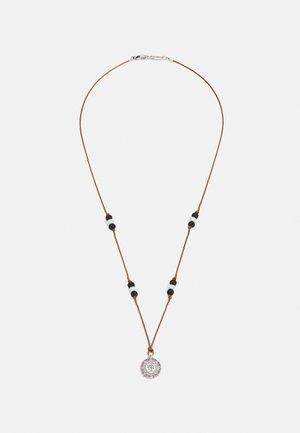 TRIBE MENTALITY PALM COIN NECKLACE - Necklace - silver-coloured