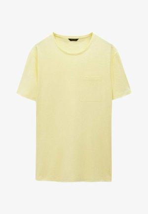T-shirt basique - yellow