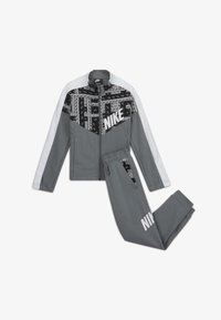 Nike Sportswear - TRACKSUIT SET - Trainingspak - smoke grey/white/smoke grey/white - 0