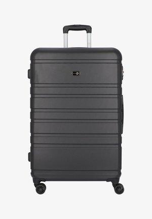 HAMBURG 4-ROLLEN TROLLEY 78 CM - Wheeled suitcase - schwarz