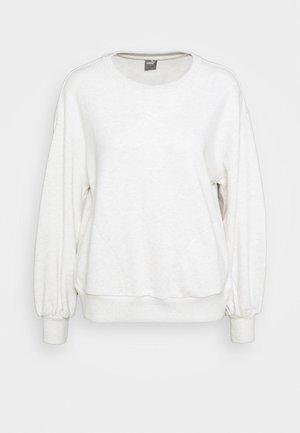 HER CREW - Sweatshirt - white heather