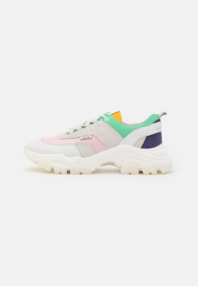Sneakers laag - multicolor pop