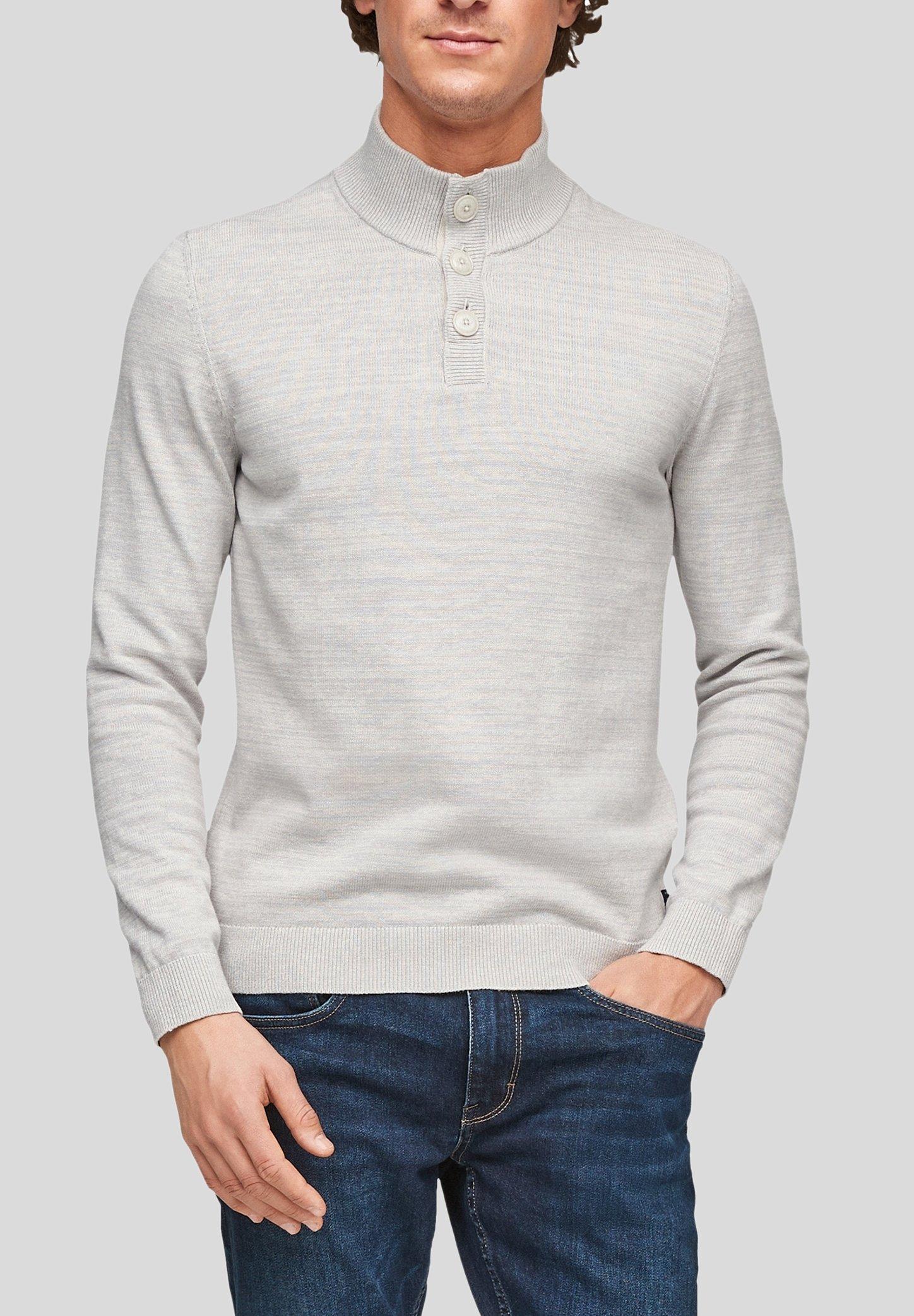 Homme MIT STEHKRAGEN - Pullover