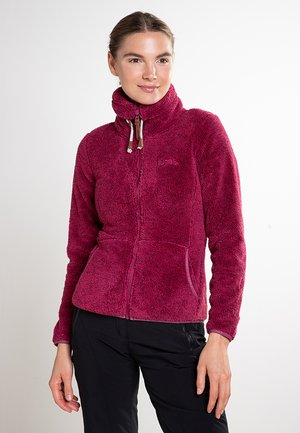 Fleece jacket - burgunder