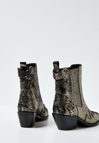Pepe Jeans - WESTERN W PALM GLAM - Cowboy/biker ankle boot - chrom - 3