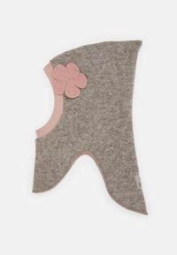 Huttelihut - ELFIE FLOWER - Beanie - camel/dusty rose - 0