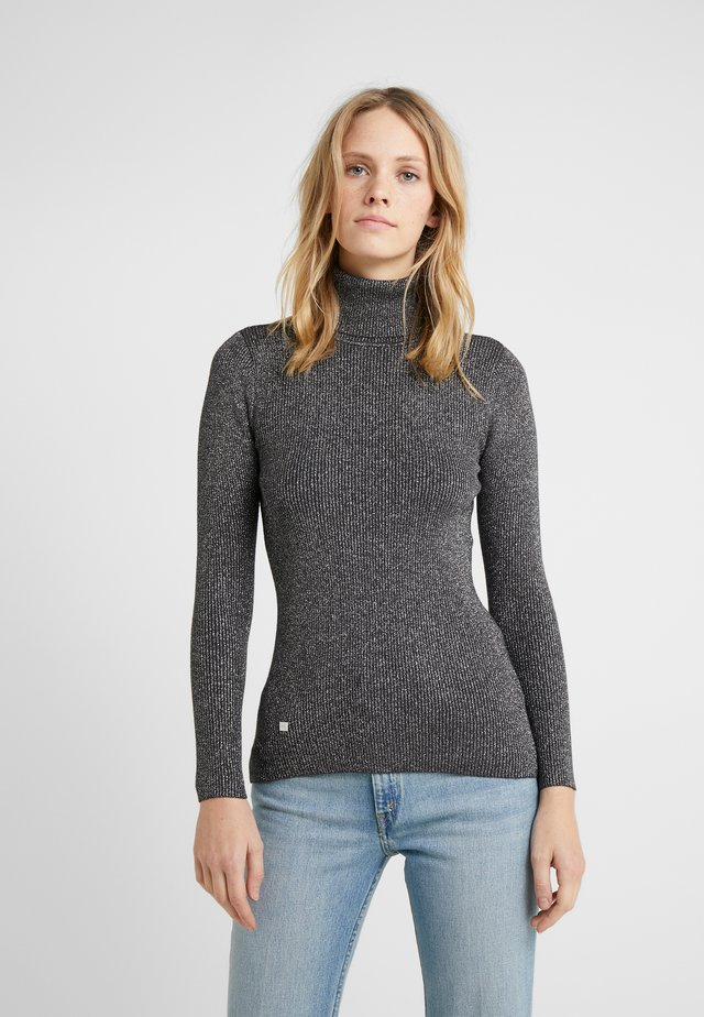 TURTLE NECK - Jumper - gunmetal