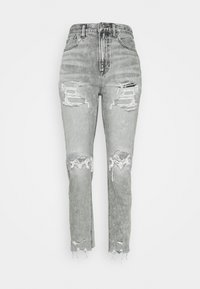 American Eagle - MOM  - Jeans slim fit - charcoal ash - 4