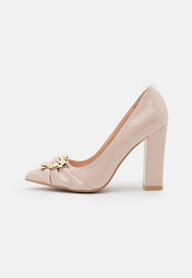 DEVON - High heels - nude