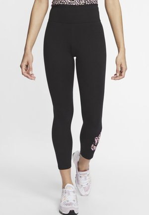 PACK - Leggings - black/pink