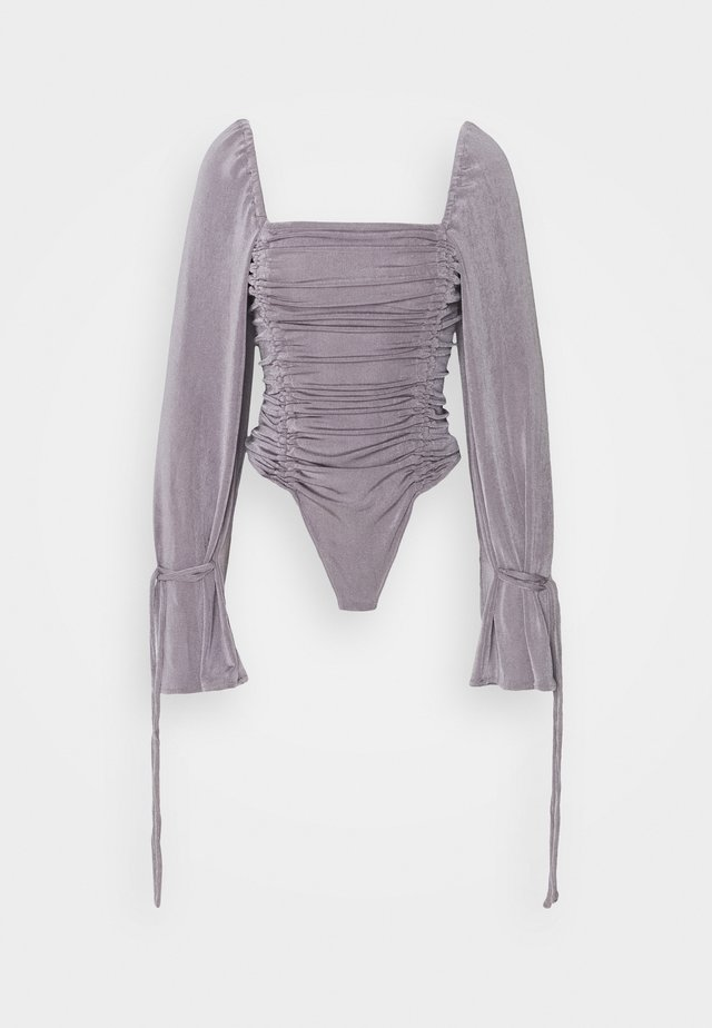 MEANT TO BE BODYSUIT - Top s dlouhým rukávem - silver mauve