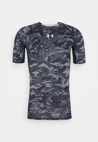 Under Armour - T-shirt imprimé - black - 4