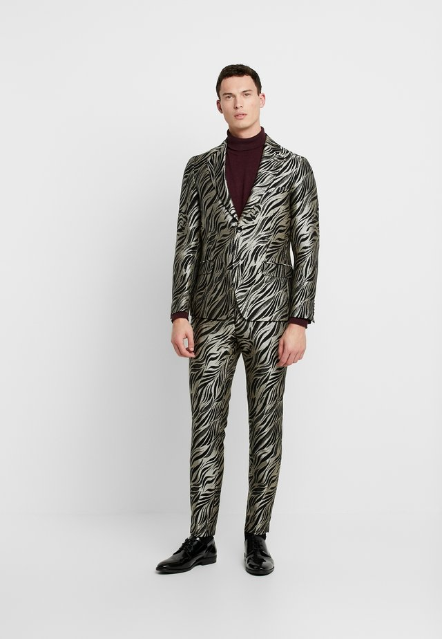 KARLSEN BLOCH - Suit - black/gold