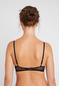 DKNY Intimates - MONOGRAM BRA - Underwired bra - black - 2