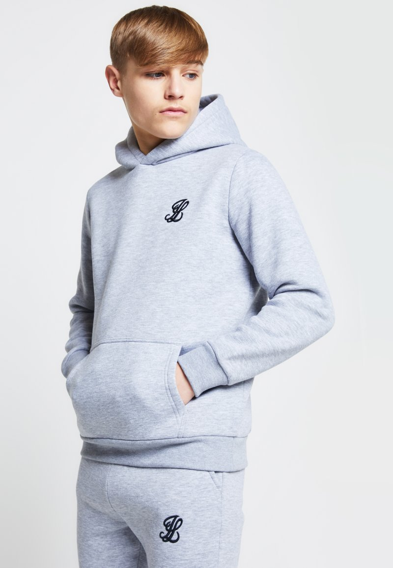 SIKSILK - LONDON - Hoodie - grey marl