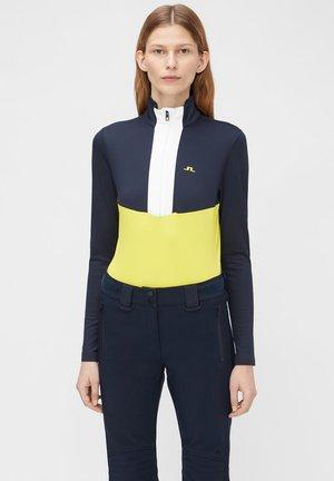 GAB MIDLAYER - Sweatshirt - banging yellow