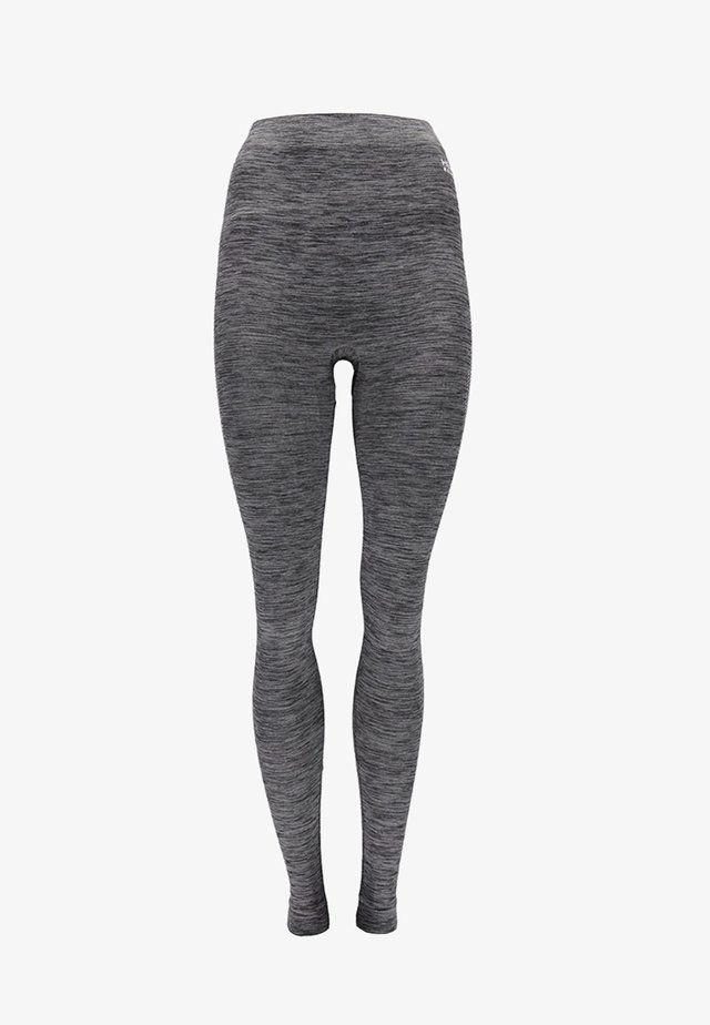 THERMO - Leggings - back melange