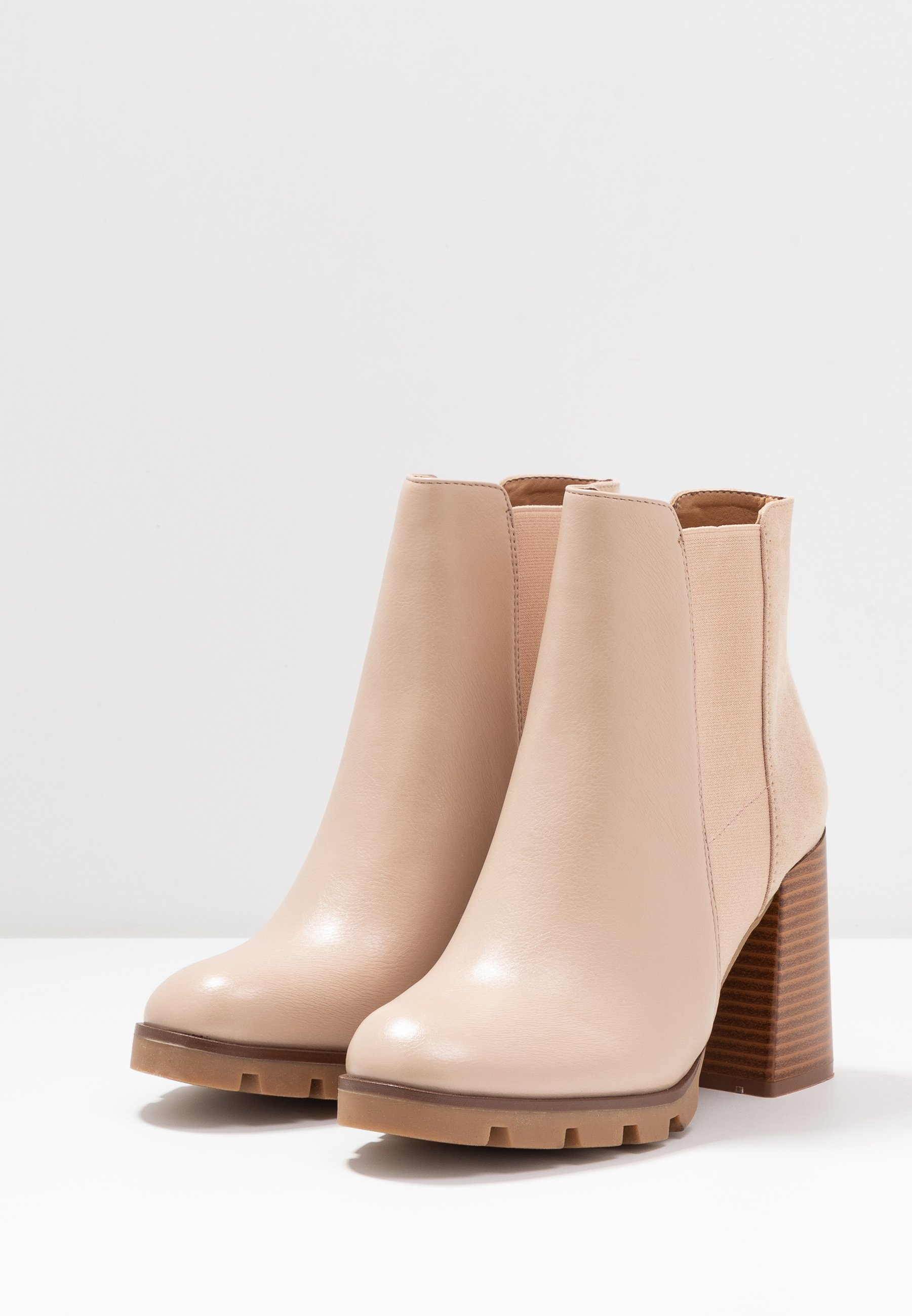 Limited New Cheapest Anna Field High heeled ankle boots - beige | women's shoes 2020 EyCDQ