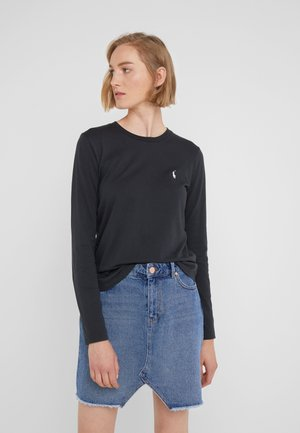 Langarmshirt - polo black