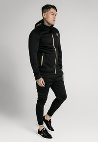 SIKSILK - ZIP THROUGH - Cardigan - black/gold - 1