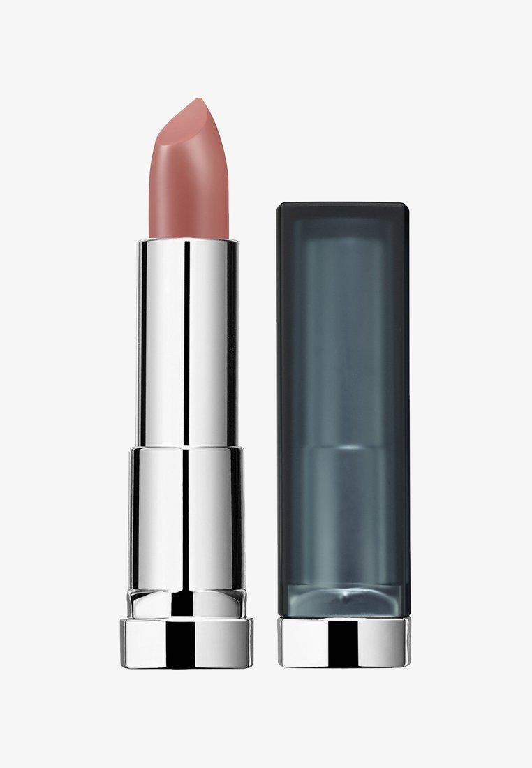 Maybelline New York - COLOR SENSATIONAL MATTES NUDES LIPSTICK - Rouge à lèvres - 982 peach buff