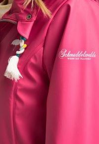 Schmuddelwedda - Parka - dunkles pink - 3