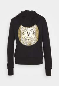 Versace Jeans Couture - Zip-up hoodie - black - 1