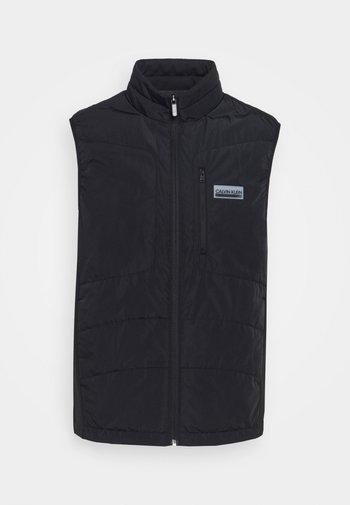 PADDED VEST - Waistcoat - black
