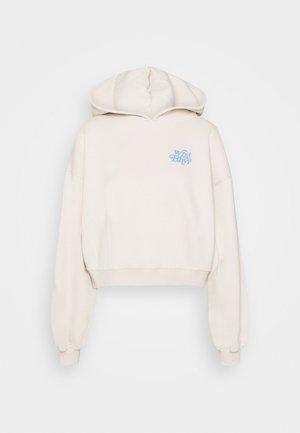 SPLASH HOODIE - Sweatshirt - taupe