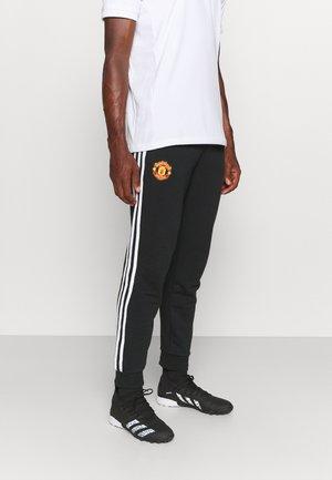 MANCHESTER UNITEDMANCHESTER UNITED 3-STRIPES PNT FOOTBALL PANTS - Club wear - black