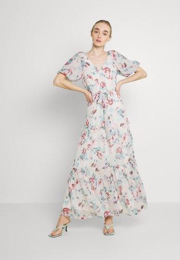 DEEP BACK VOLUME GOWN - Maxi dress - multicoloured