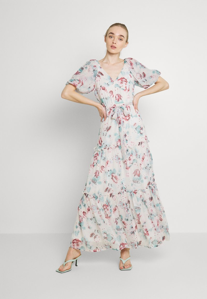 Nly by Nelly - DEEP BACK VOLUME GOWN - Maxi dress - multicoloured