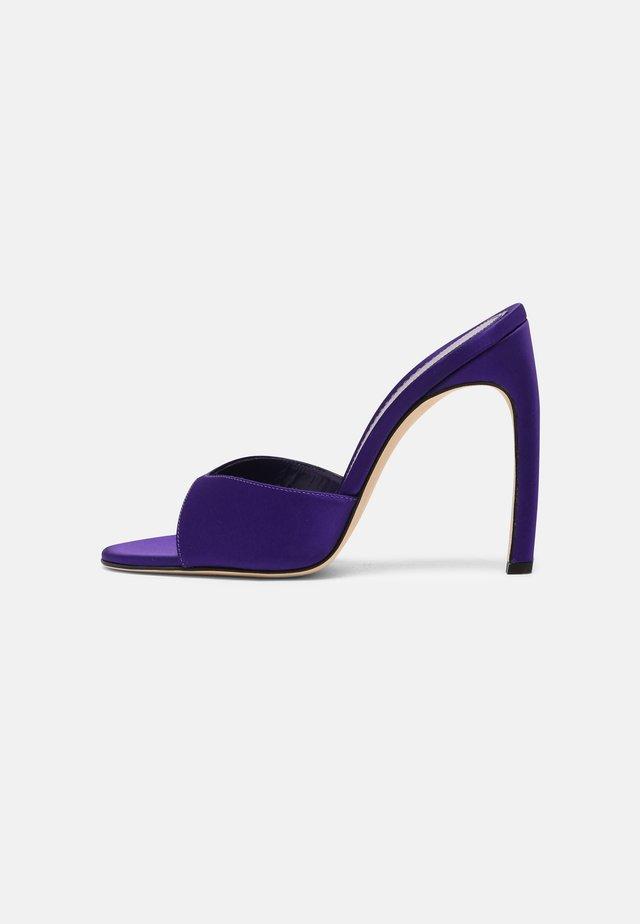 OLIVIA  - Sandales à talons hauts - bright purple
