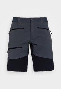 Haglöfs - RUGGED FLEX MEN - Outdoor shorts - magnetite/true black - 3