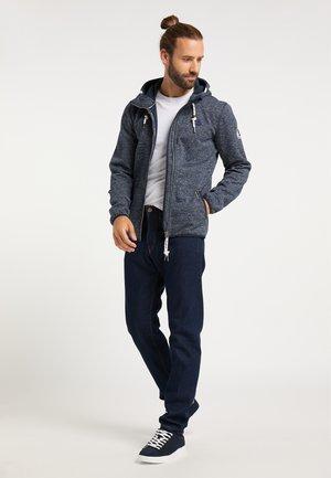 Summer jacket - marine melange
