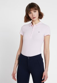 Tommy Hilfiger - HERITAGE SHORT SLEEVE - Polo shirt - cradle pink - 0