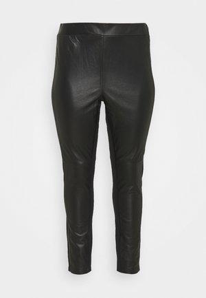 JRCLARA - Leather trousers - black
