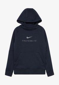 Nike Performance - FRANKREICH FFF HOOD - Oblečení národního týmu - dark obsidian - 3