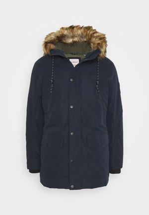 Zimní kabát - navy blazer