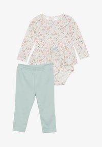 Carter's - FLORAL BABY SET - Leggings - multi-coloured - 3
