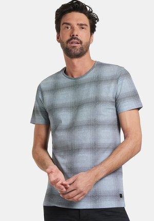 TACITO - T-shirt print - blue