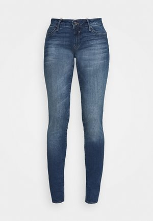 LINDY - Slim fit jeans - dark brushed glam