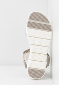 LOVE OUR PLANET by MARCO TOZZI - Sandalen met plateauzool - light grey - 6