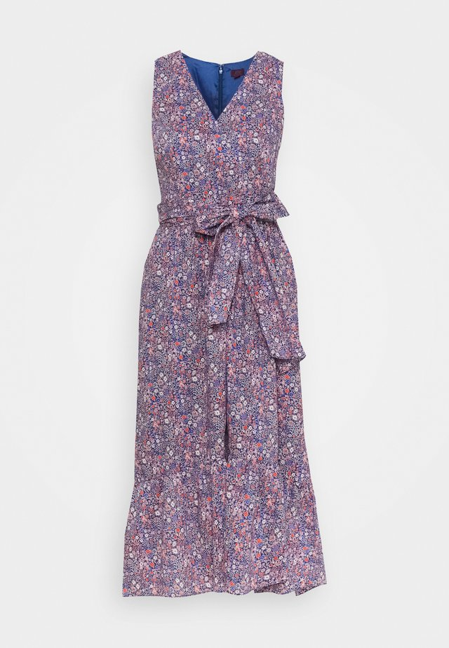 WRAP DRESS LIBERTY KAYOKO FLORAL - Robe d'été - cool multi