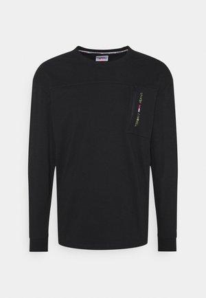 TECH POCKET  - Long sleeved top - black