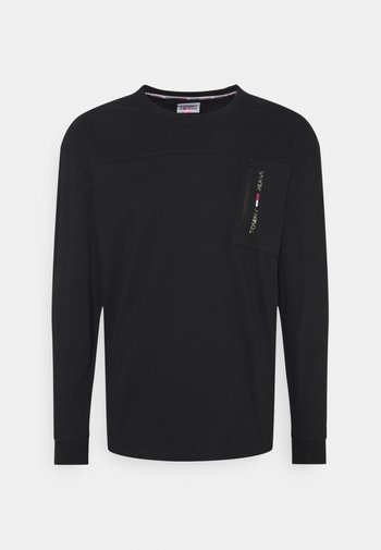 TECH POCKET  - Långärmad tröja - black