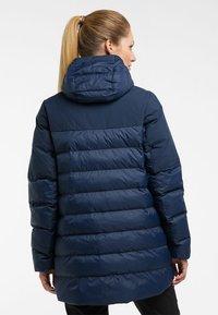 Haglöfs - DALA MIMIC PARKA  - Winter coat - tarn blue - 1