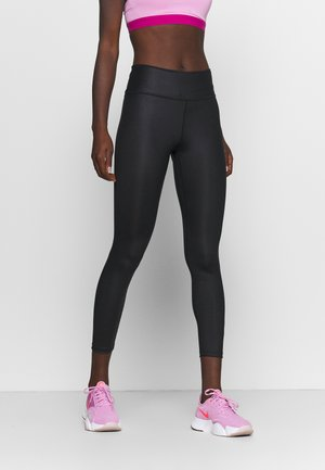 ONE 7/8 FAUX - Legginsy - black/smoke grey