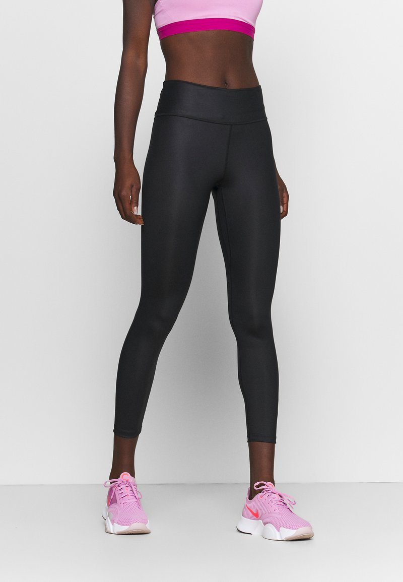 Nike Performance - ONE 7/8  - Leggings - black/smoke grey