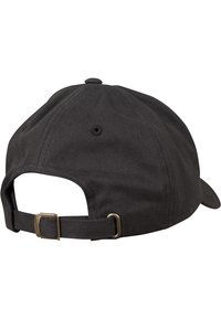 Flexfit - PEACHED COTTON TWILL DAD - Cap - black - 6